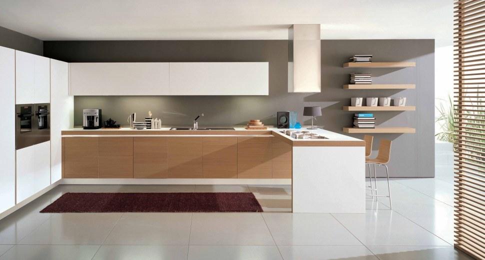 Cucina Stella Prezzo: Cucina stella effetto olmo naturale composizione ...