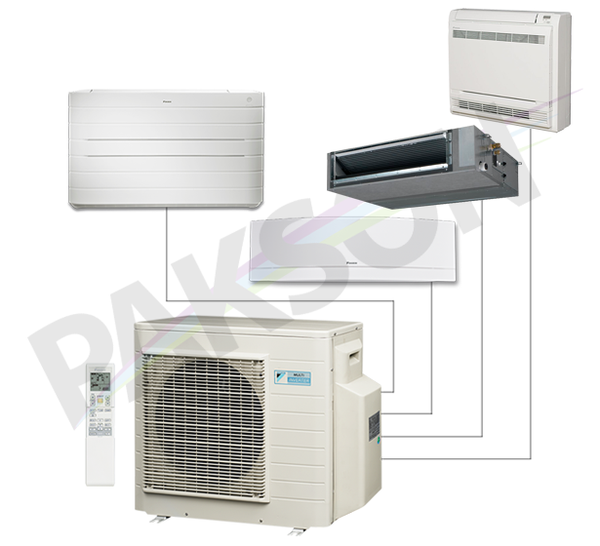 marketkonekt daikin inverter multi split systems. Black Bedroom Furniture Sets. Home Design Ideas