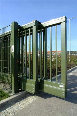 Ворота телескопическиес калиткой купить забор в лысянке